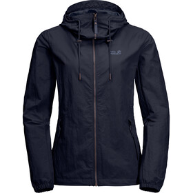 Jack Wolfskin Lakeside Jacke Damen midnight blue